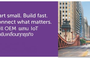 Start small. Build fast.Connect what matters.Dell OEM ผสาน IoT เพื่อขับเคลื่อน StartUp และทุกธุรกิจ-ssanetwork-1