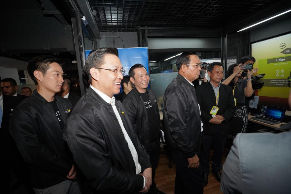 SSA Network ร่วมต้อนรับนายกรัฐมนตรี พลเอกประยุทธ์ จันทร์โอชา เยี่ยมชมห้อง Future & Maker Lab ที่ DEPA